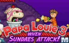 Papa louie 3 - Jeux de cuisine papa louie pancakeria ...